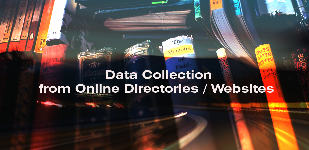 Data Collection from Online Directories / LinkedIn / Websites