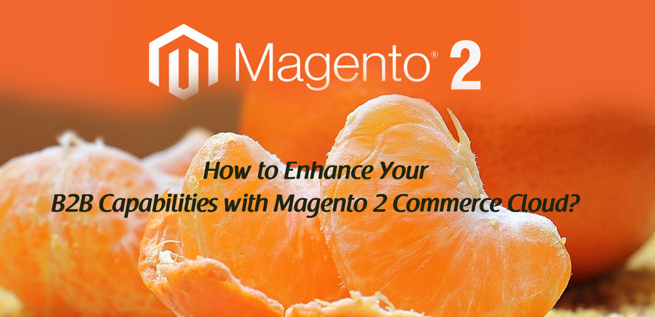 How to Enhance Your B2B Capabilities with Magento 2 Commerce Cloud?